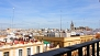 Seville Apartment - Views of the Cathedral from the living room.