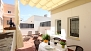 Sevilla Ferienwohnung - The private terrace is well-equipped with garden furniture.