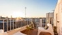 Sevilla Ferienwohnung - Sun-filled, private terrace with garden furniture and views.