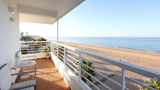 Rota Apartment Private Terrace Facing The Beach Of Virgen Del Mar