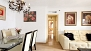 Seville Apartment - A corridor leads to the 3 bedrooms and 2 bathrooms.