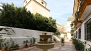 Seville Apartment - Private courtyard with access for residents only.