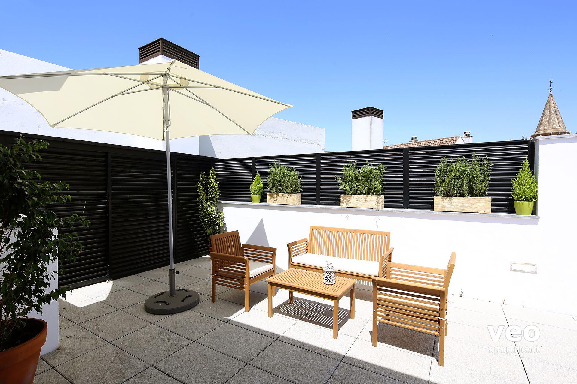 Appartement rue corral del rey s ville espagne corral for Location appartement avec terrasse 92