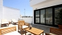 Seville Apartment - Private terrace - an ideal spot to relax and enjoy the Sevillian sunshine.