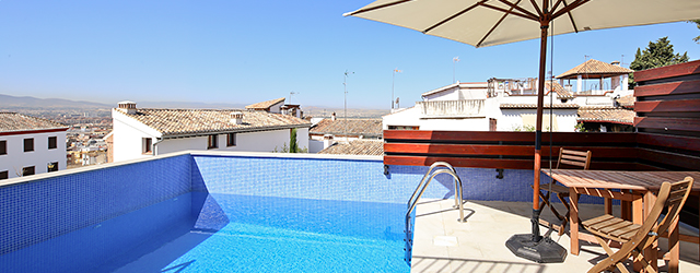 Granada rental apartment San José Penthouse | 3 bedrooms, 3 bathrooms, 4 terraces and private pool 0745