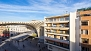 Seville Apartment - View of the Metropol Parasol from the apartment balcony.