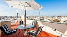 Accommodation Seville Guadiana Terrace | Top-floor apartment with terrace and city views