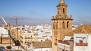 Sevilla Ferienwohnung - The upper terrace offers amazing 360-degree view of the roof-tops, churches and tower bells.
