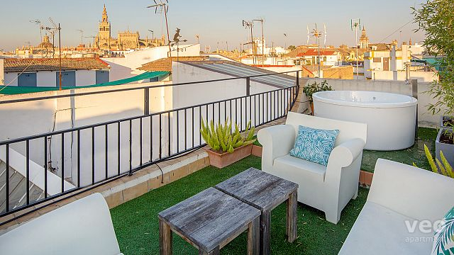 Rent vacacional apartment in Sevilla Calle Rodo Sevilla