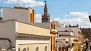 Seville Apartment - View of the Giralda bell tower from the living room.