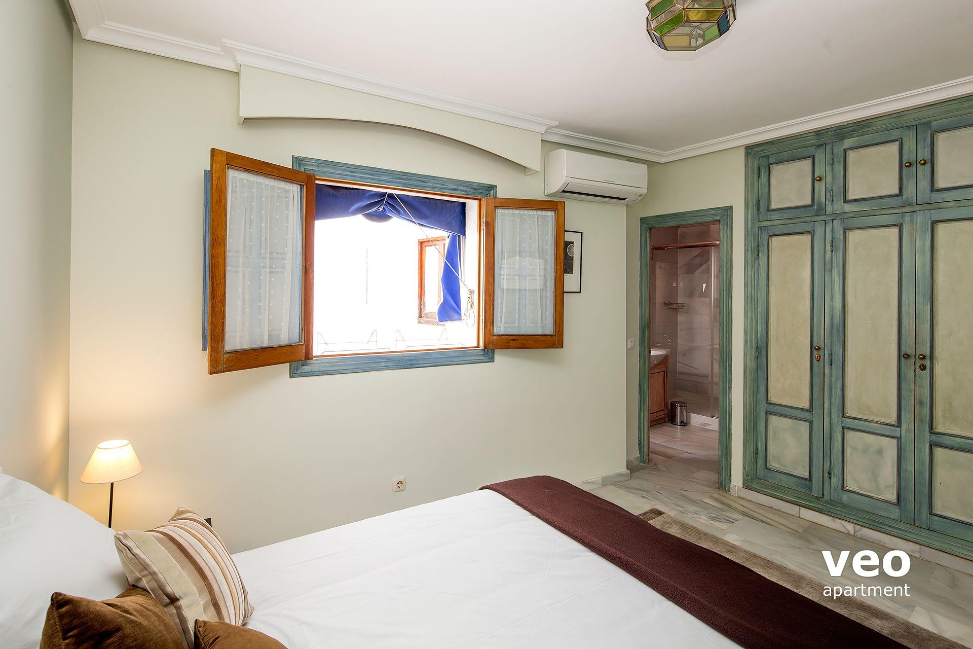 Ensuite Bathroom No Window seville apartment celinda callejón seville spain | alfalfa terrace