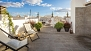 Seville Apartment - Roof terrace. The apartment building is made up of 2 holiday flats which share 2 terraces.