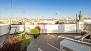 Seville Apartment - Terrace No.2 provides wonderful skyline views.