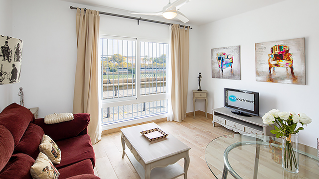 Rent vacacional apartment in Sevilla Calle Betis Sevilla