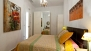 Sevilla Apartamento - The bedroom has a double bed of 150x190cm.