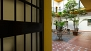 Sevilla Ferienwohnung - View from the apartment entrance door to the patio.