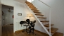 Seville Apartment - There is a drum for music lovers! Stairs lead to the upper floor.