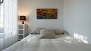 Seville Apartment - Bedroom 4 with a double bed (140x200cm).