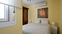 Seville Apartment - Bedroom with a double bed (1.50x2.00m).