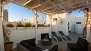Seville Apartment - The terrace faces south, providing sunlight from dawn till dusk.