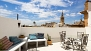 Seville Apartment - Private terrace overlooking the Cathedral.