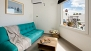 Seville Apartment - The sofa can be converted into a bed for 1 additional guest.