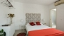 Seville Apartment - Bedroom with a Queen size double bed (160x200cm).