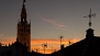Seville Apartment - View of the La Giralda by the sunset.