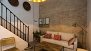 Seville Apartment - The sofa can be converted into a double bed (ground floor).