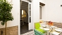 Sevilla Apartamento - The private patio gives access to the apartment.
