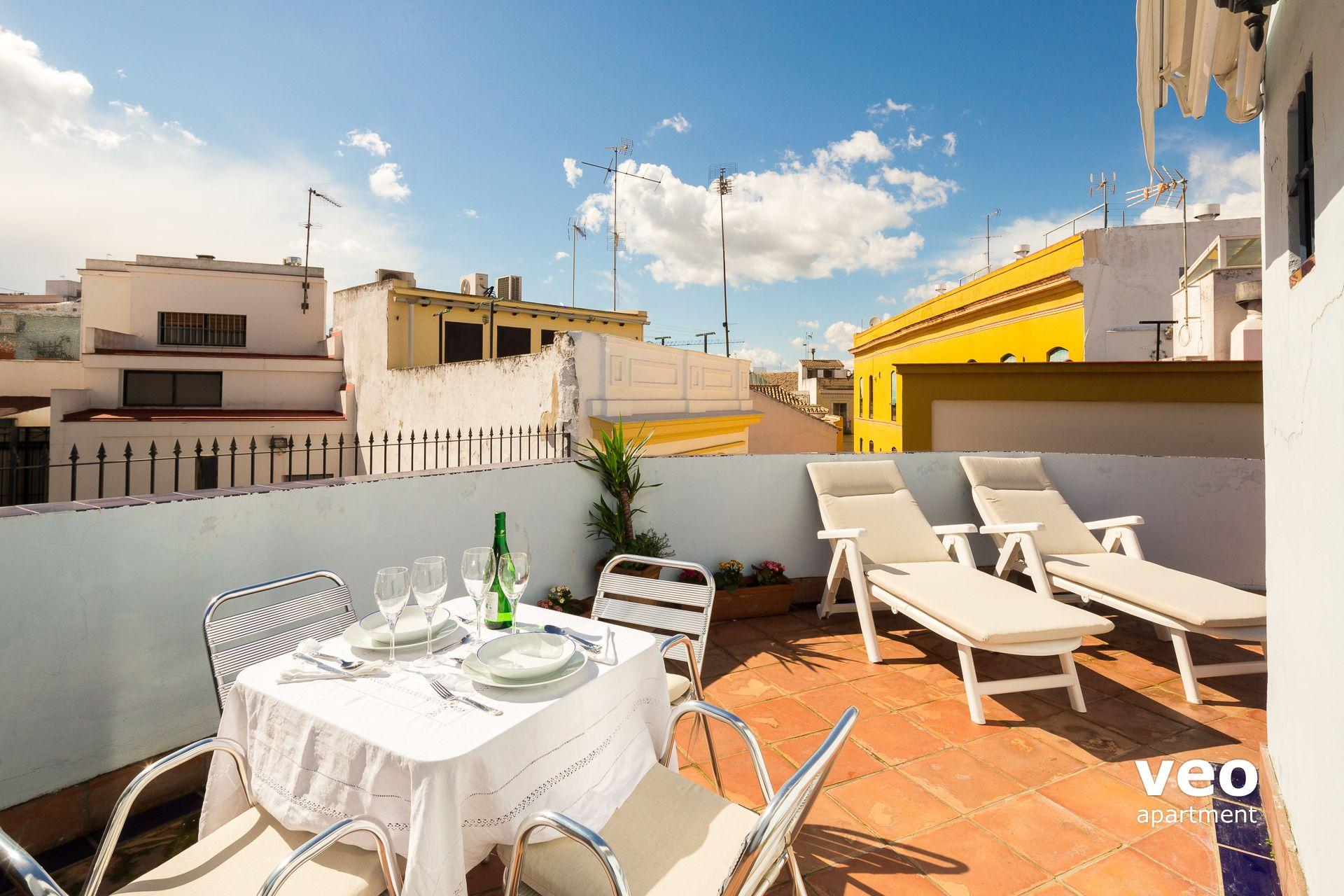 Sevilla apartmento calle san felipe sevilla espa a san - Terraza jardin felipe ...