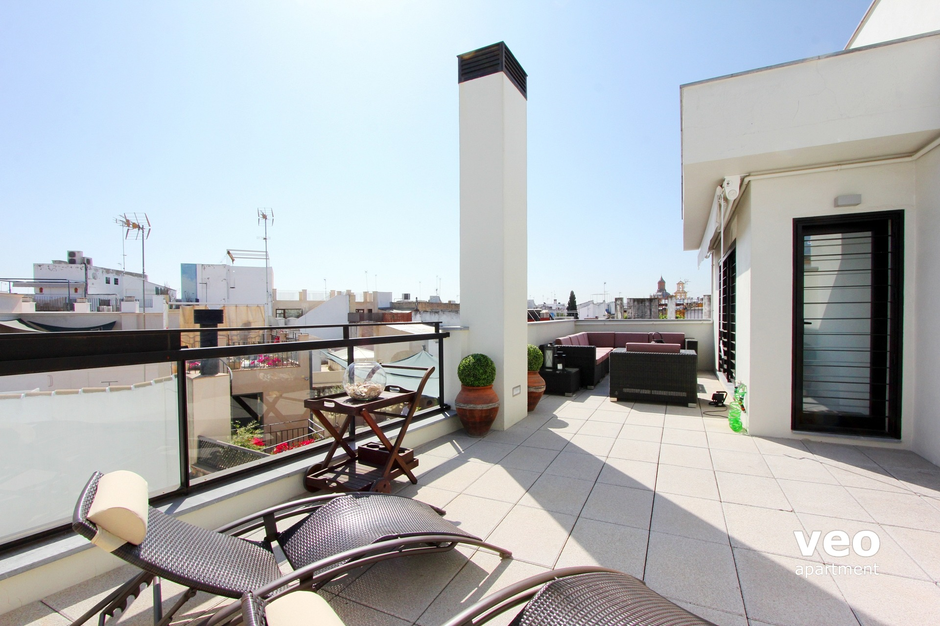 Appartement Rue Corral Del Rey Seville Espagne Corral Rey Terrasse